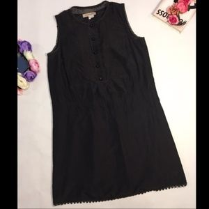 See by Chloe black sleeveless silk mini dress 6